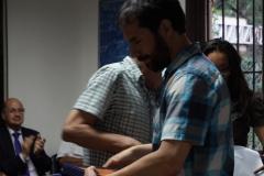 20.- Cristian Schultze recibe por Dr. Mariano Requena