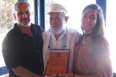 27.- Dr. Enrique Jenkin (entrega en Museo Pablo Neruda)