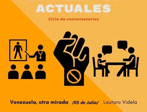"""Primer Conversatorio del Ciclo: """"Miradas a los Conflictos Actuales"""""""